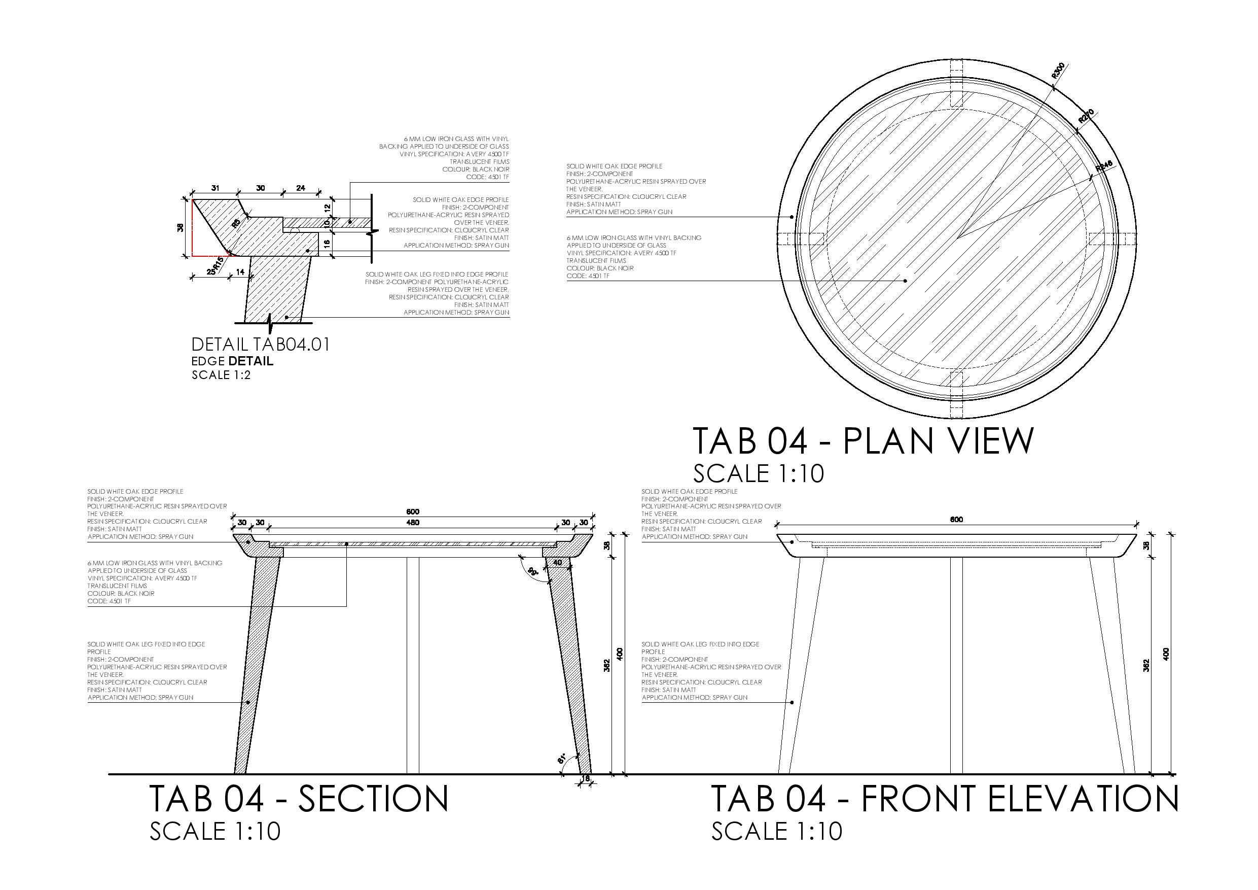 client area waiting table – dwg | annelise vorster